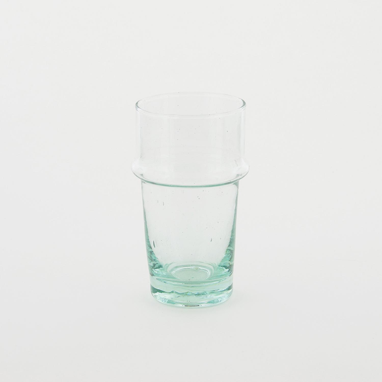 nous paris, verre beldi en verre soufflé à relief transparent, verre beldi