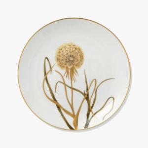 Grande-assiette-en-porcelaine-fleur-D-27cm-Pissenlit-v1