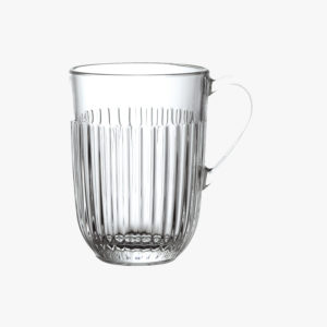 nous paris, mug en verre, la rochère