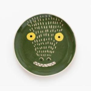 Petite-assiette-animal-pour-enfant-D-20cm-crocodile-v1