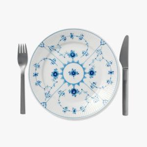 Petite-assiette-en-porcelaine-a-motifs-delicats-D-22cm-bleu-sur-blanc-v1