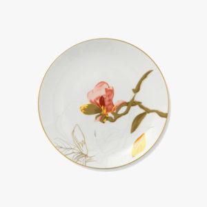 Petite-assiette-en-porcelaine-fleur-D-22cm-Magnolia-v1