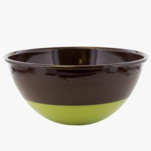 plat-creux-en-email-bicolore-d-22cm-marron-vert-v1
