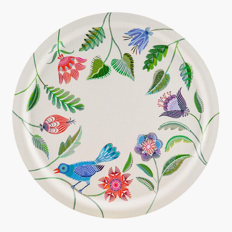 Plateau-circulaire-fleuri-D-49cm-multicolore-v1