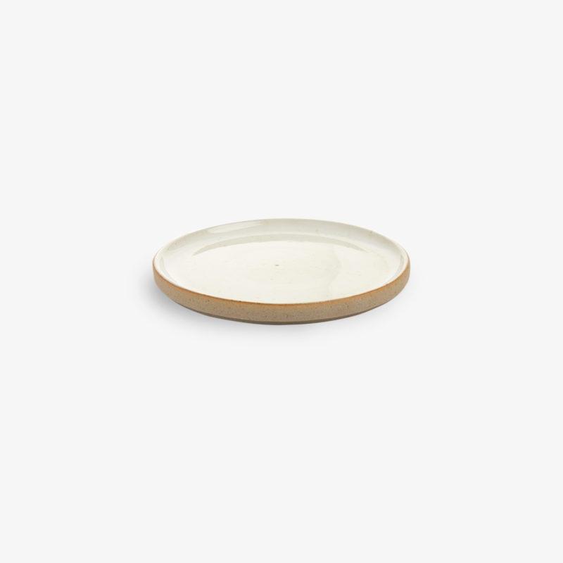 Soucoupe-a-the-mini-assiette-Basic-gres-blanc