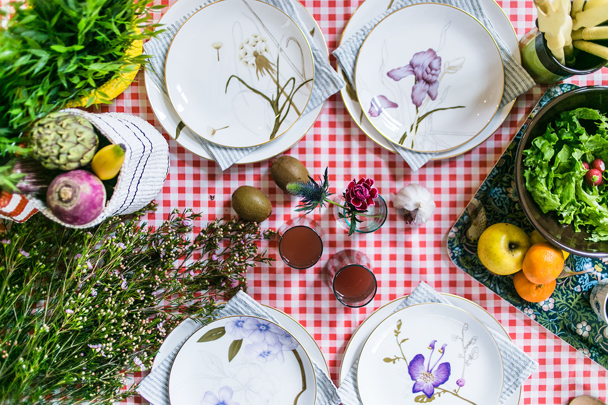 Inspiration table picnic de printemps BIG
