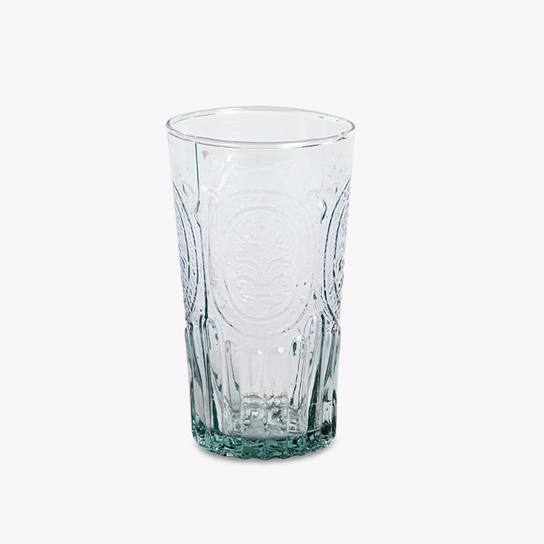 verre mohita en verre recycl h 13 5cm transparent nous. Black Bedroom Furniture Sets. Home Design Ideas