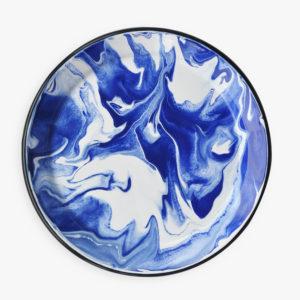 assiette-email-marbre-bleu-blanc-1