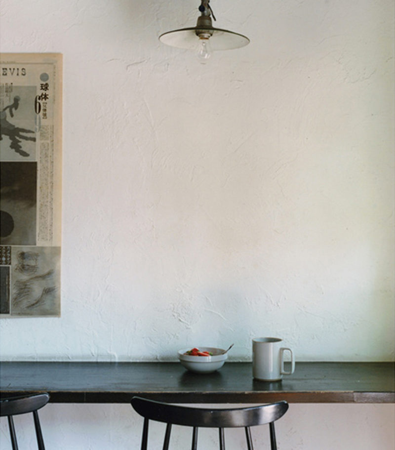 grand mug porcelaine japonaise gris clair - Hasami - wabi sabi japon