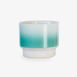 Petite tasse Asemi turquoise - Japon - Made in Japan