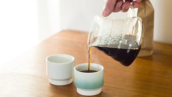 Petite tasse à café Asemi turquoise - Japon - Made in Japan coffee