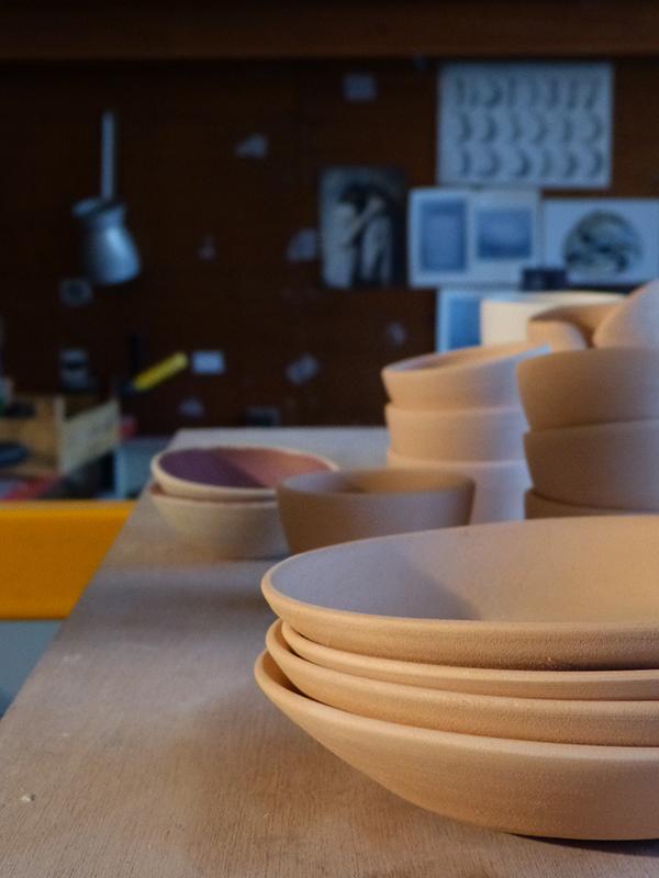 atelier de marion graux céramiste - assiettes