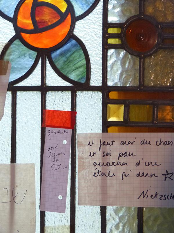 atelier de marion graux céramiste - vitrail