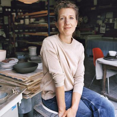 Portrait Marion Graux atelier céramiste
