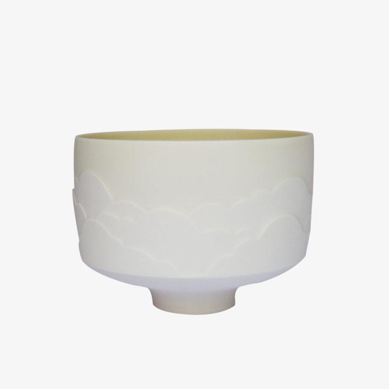 Bol-coupe-porcelaine-NIMBUS-nuages-sculptes-blanche-v1