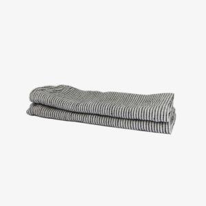 Deux-serviettes-de-table-en-lin-rayures-noires-v1