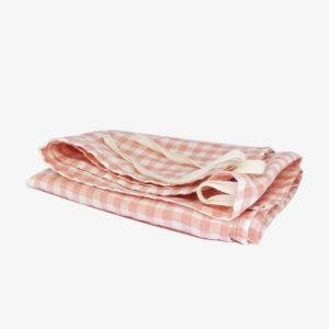 Torchon-Tablier-en-lin-lave-vichy-rose-corail-v1