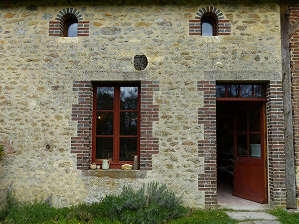 Atelier de Cécile Preziosa - bâtiment extérieur