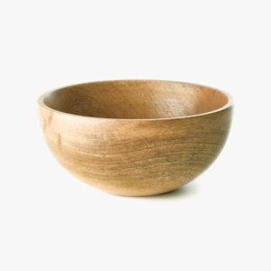 petit bol en bois de manguier - fog linen