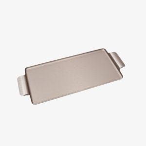 Plateau aluminium long moka Kaymet