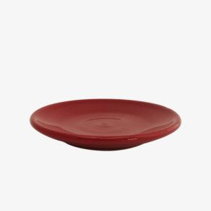 Soucoupe tasse terrocotta rouge - Atsonios Sifnos