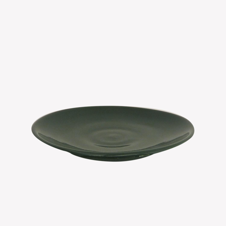 Soucoupe Tasse terracotta couleur vert - Atsonios Sifnos