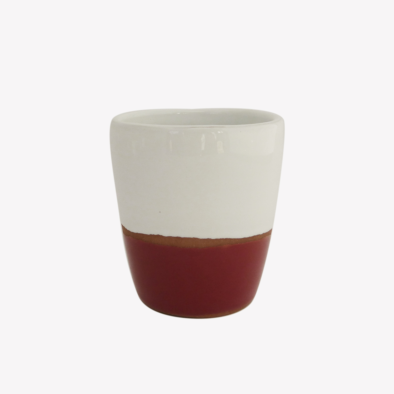 Tasse lungo terracotta couleur rouge - Atsonios Sifnos