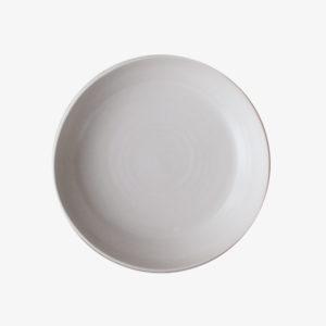 Assiette creuse blanc céramique japonaise vaisselle Makiko Hastings