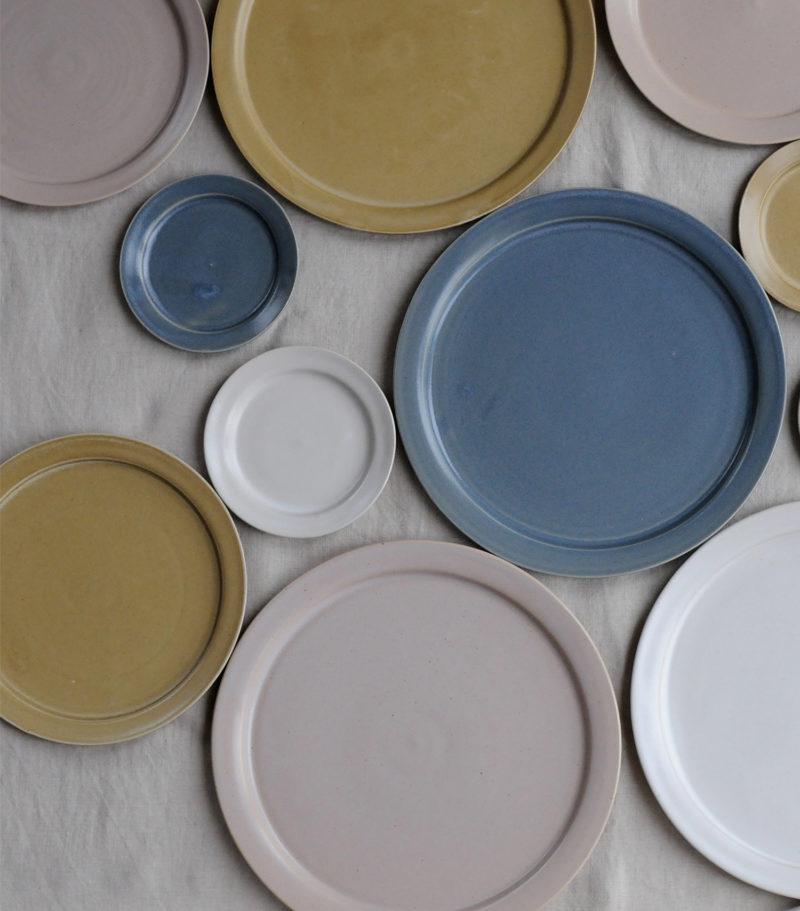 céramique vaisselle japonaise assiette grande Makiko Hastings