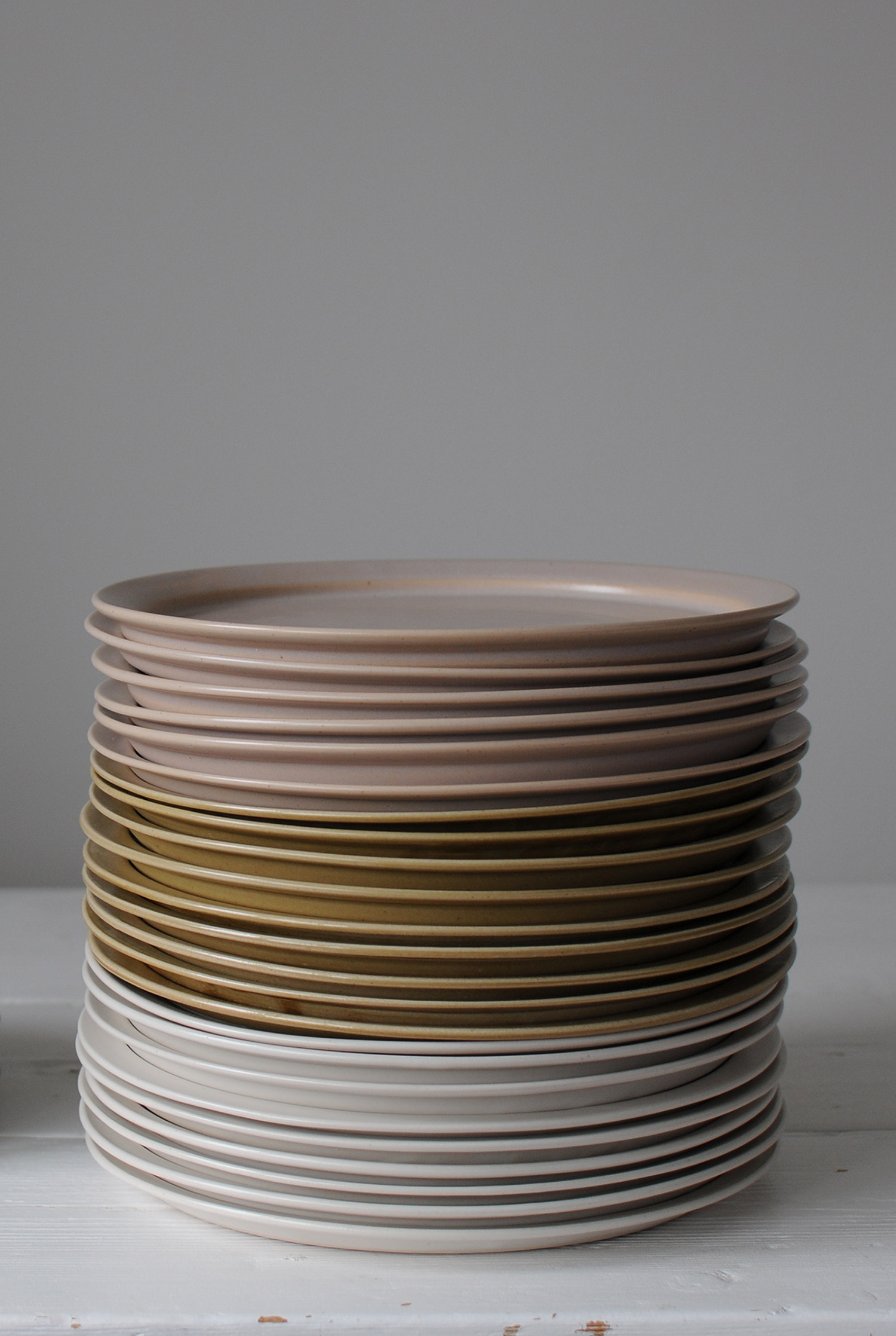Vaisselle japonaise céramique assiette Makiko Hastings