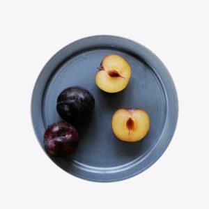 céramique vaisselle japonaise assiette bleu Makiko Hastings