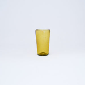 Salaheddin, verre à thé soufflé jaune, nous Paris