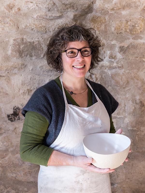 Emmanuelle Manche céramiste artisan créateur Conflans
