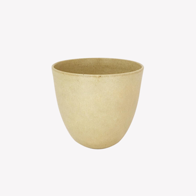petite tasse en grès émaillé verre céramique Cécile Preziosa beige