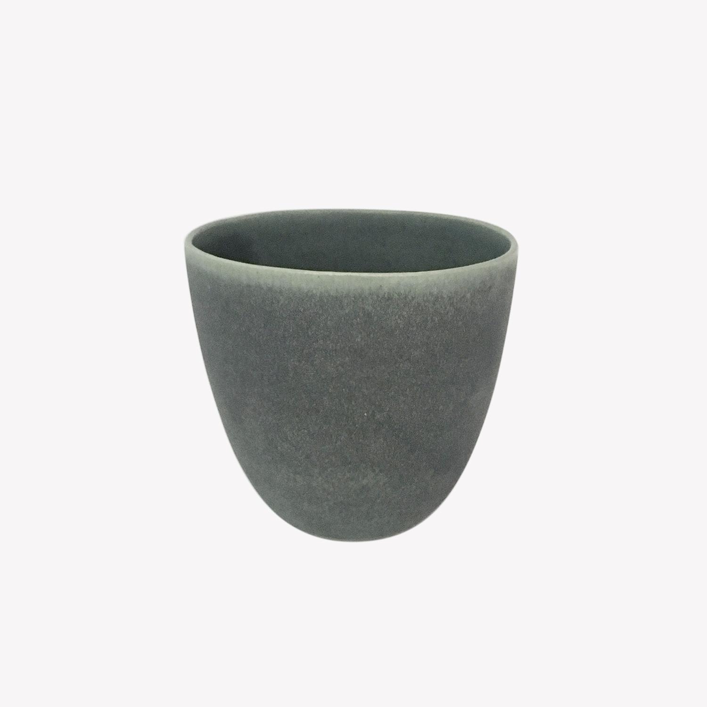 céramique gris vert verre tasse gobelet Cecile Preziosa