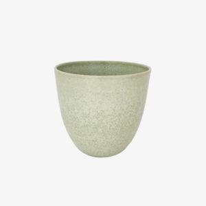 gobelet tasse verre céramique Cécile Preziosa vert céladon