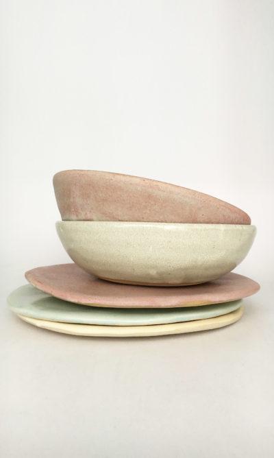 assiette vaisselle ensemble céramique Marion Graux bol ramequin