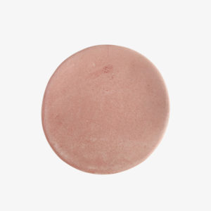 assiette vaisselle rose céramique Marion Graux