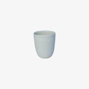 nous paris, petite tasse à expresso en porcelaine blanc motif graphiques, Kaolin'e
