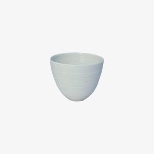 nous paris, tasse à thé en porcelaine motifs vagues blanc, Kaolin'e