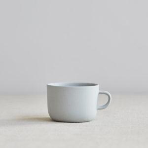 nous paris, tasse à thé en faïence gris, sue pryke