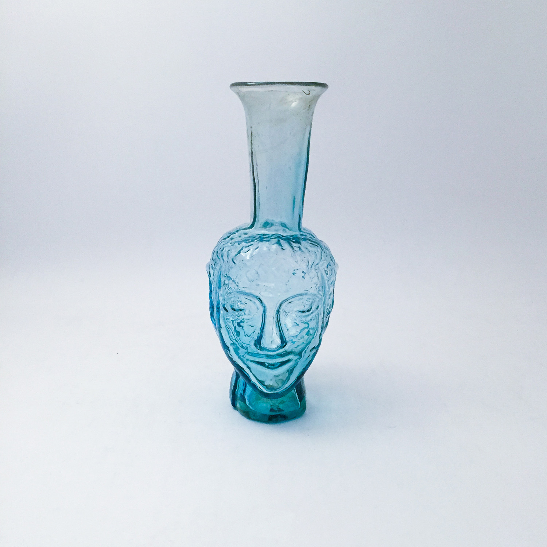nous paris, vase anthropomorphe turquoise, la soufflerie