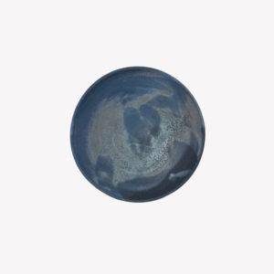 Marion Graux, petit bol mat grès émaillé bleu lune, nous Paris