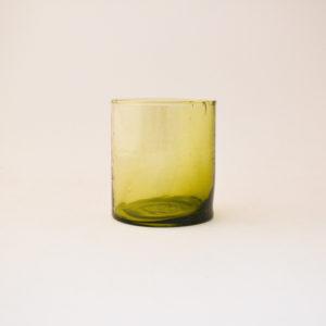 nous Paris, verre soufflé jaune, le verre Beldi
