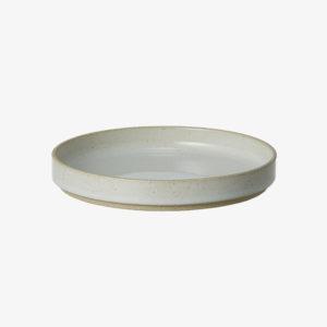 nous paris, petite assiette en porcelaine japonaise gris clair, hasami porcelain