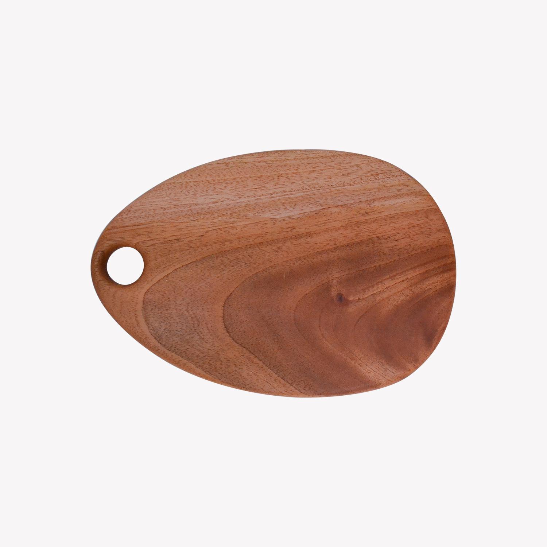 nous paris, petite planche ronde à découper en bois, fog linen