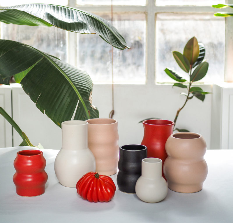 nous paris, vases en grès émaillé, i&you ceramics