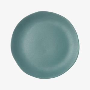 nous paris, grande assiette en grès émaillé bleu, jars