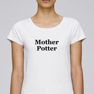 t-shirt en coton bio nous paris mother potter