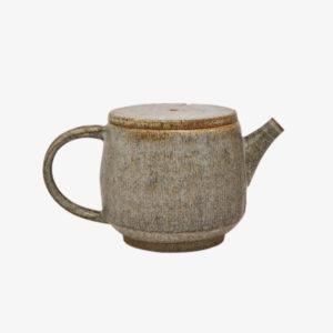nous paris, petite théière et petite tasse en grès émaillé, hannah blacksmith